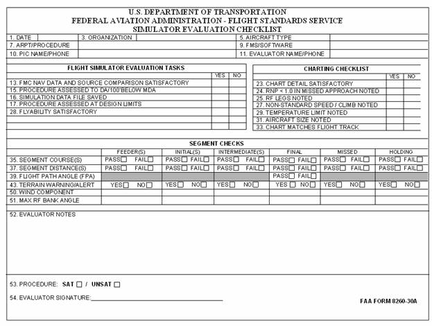 Faa Pilot Database >> 8900.1 Vol. 11 Ch 12 Sec 1, Requirements to Conduct an ...