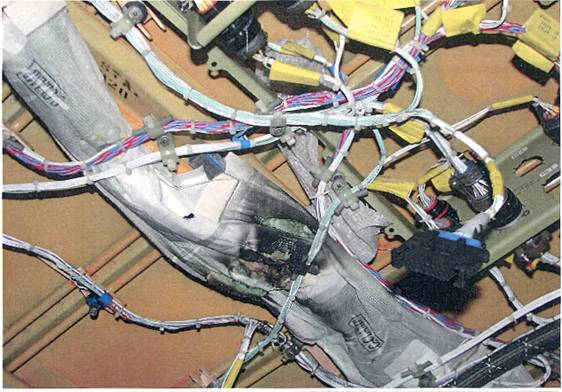Damaged Wiring Harness : Aircraft wire harness damaged best site wiring
